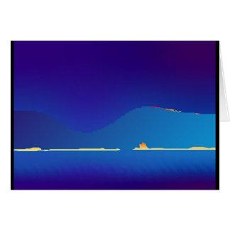 Fataのmorgana #1 (ピクセル高地の夜明けに) カード