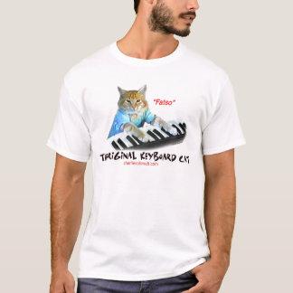 Fatsoの…オリジナルのキーボード猫 Tシャツ