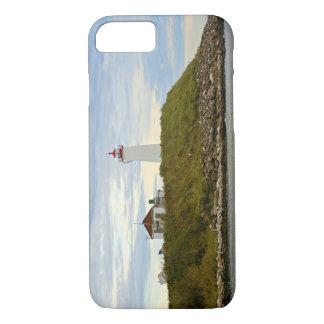 Faulknersの島の灯台、コネチカット iPhone 8/7ケース