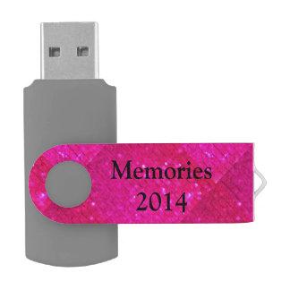 。.fauxのグリッターを個人化して下さい USBフラッシュドライブ