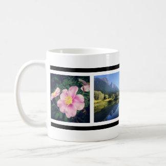 Faveの写真のカスタムなInstagramのあなたの4写真 コーヒーマグカップ