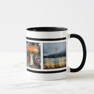 Faveの写真のカスタムなInstagramのあなたの4写真 マグカップ