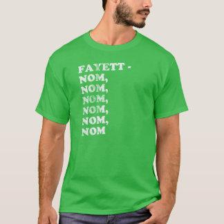 FAYETT-NOM、NOM、NOM、NOM、NOM -男性 Tシャツ