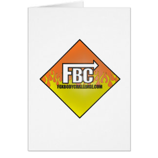 FBC -炎 グリーティングカード