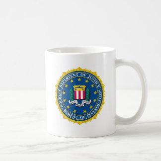 FBIのシール コーヒーマグカップ