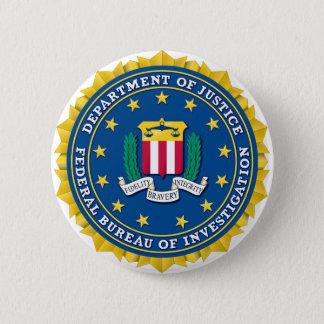 FBIのシール 5.7CM 丸型バッジ