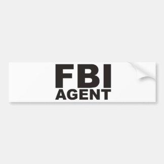 FBIのプロダクト及びデザイン! バンパーステッカー