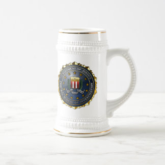 FBIの紋章 ビールジョッキ
