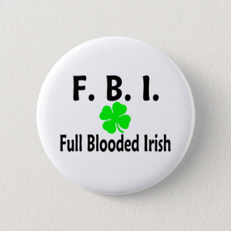 FBI完全なBloodedのアイルランド人のクローバー 5.7cm 丸型バッジ