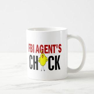 FBI捜査官のひよこ コーヒーマグカップ