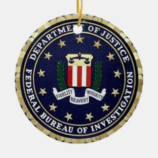 FBI セラミックオーナメント