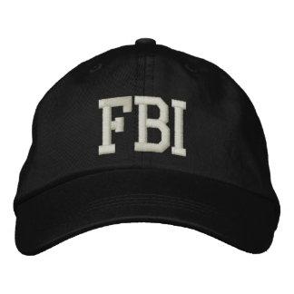 FBI 刺繍入りキャップ