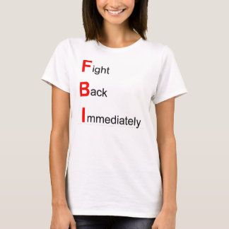 FBI CIAのTシャツ Tシャツ
