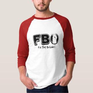 FBOの脂肪質の男の子のアウトドア Tシャツ