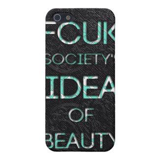 FCUKの社会 iPhone SE/5/5sケース