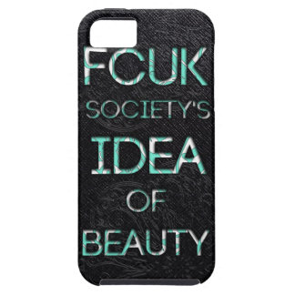FCUKの社会 iPhone SE/5/5s ケース