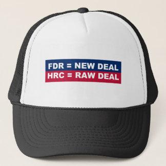 FDR =ニューディール; HRC =不当な取り扱い キャップ