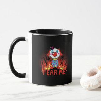 Fear Me Clown マグカップ