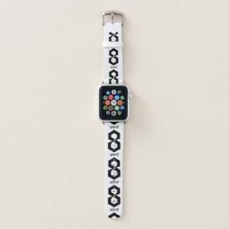 Fearless Minimalist Monochrome 8-Bit Watch Band Apple Watchバンド