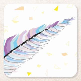 Feather Coaster スクエアペーパーコースター
