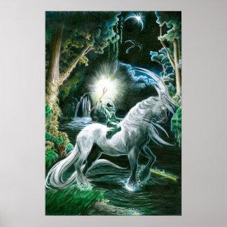 Featurlessの騎士 ポスター