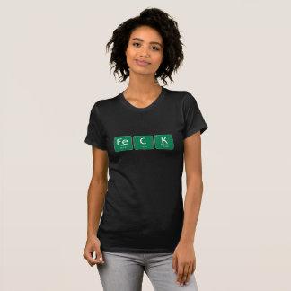 FeCKの(アイルランドの)女性のアメリカの服装のTシャツ Tシャツ