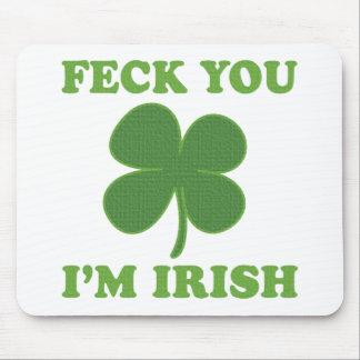 Feck Imアイルランド語 マウスパッド