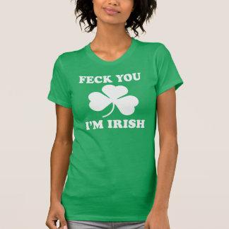 Feck Imアイルランド語 Tシャツ