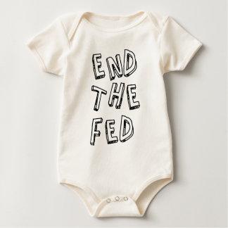 Fed.pngを終えて下さい ベビーボディスーツ