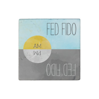 Feed Pets Rotating Kitchen Magnet Reminder ストーンマグネット