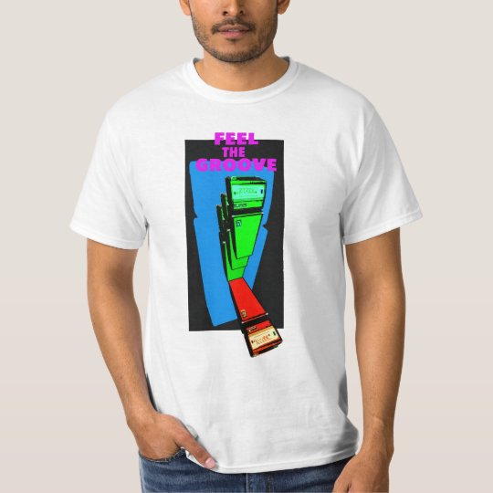 FEEL THE GROOVE bass Tシャツ