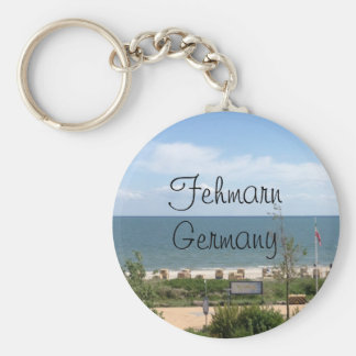 Fehmarnドイツのビーチ キーホルダー