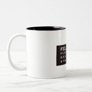 Felice Flower Mag Cup ツートーンマグカップ
