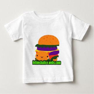 felinechaliceのハンバーガー ベビーTシャツ