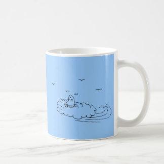 Felixの飛行マグ コーヒーマグカップ