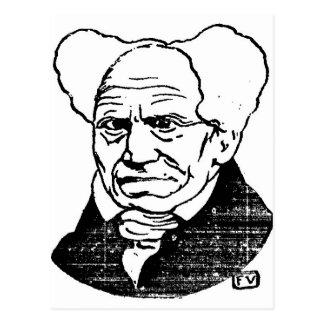 Felix著アルトゥル・ショーペンハウアードイツの哲学者 ポストカード