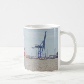 Felixstoweの容器の港 コーヒーマグカップ
