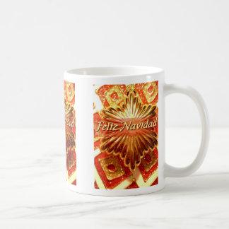 felizのnavidadのフェスタのマグ コーヒーマグカップ