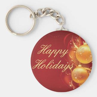 felizのnavidadの幸せな休日 キーホルダー