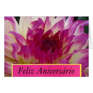 Feliz Aniversário - La Dalia Púrpura カード