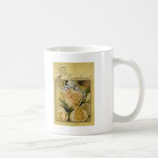 Feliz Cumpleanosのバースデー・カード コーヒーマグカップ