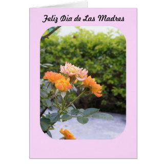 Feliz Dia de las Madres カード