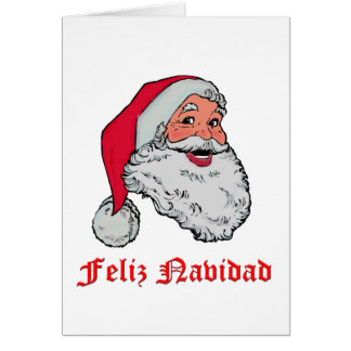 Feliz Navidadのクリスマスカード カード