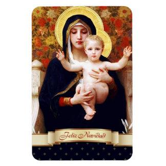 Feliz Navidad。 スペインのなクリスマスのギフトの磁石 マグネット