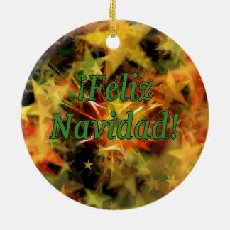 ¡ Feliz Navidad! スペインのなgfのメリークリスマス セラミックオーナメント