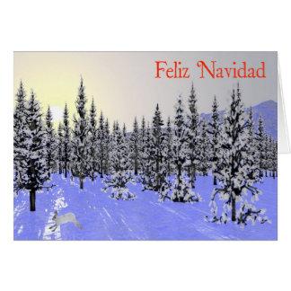 Feliz Navidad -冬至 カード