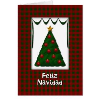 Feliz Navidad - Tarjeta カード