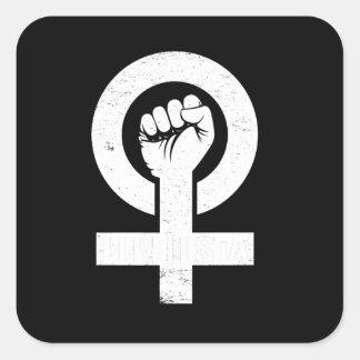 FEMINISTA --  白 スクエアシール