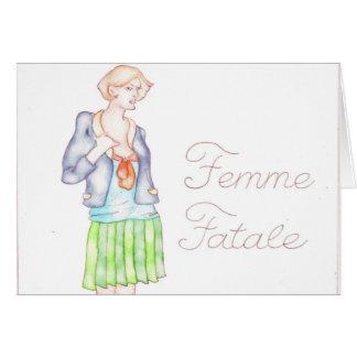 Femme Fatale カード