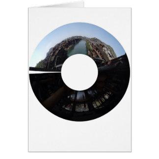 Fenghuangの円のパノラマ式 カード